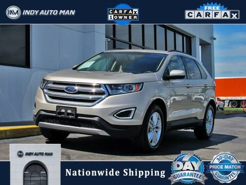 2017 Ford Edge for sale at INDY AUTO MAN in Indianapolis IN