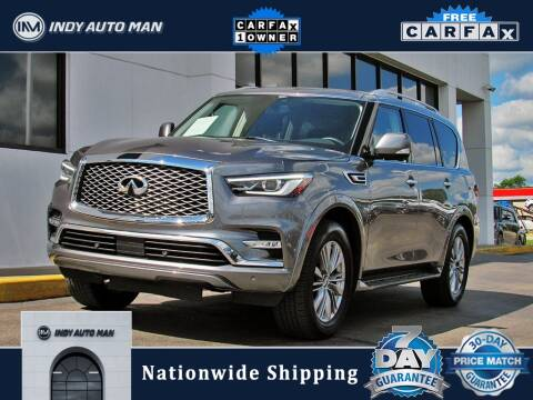 2019 Infiniti QX80 for sale at INDY AUTO MAN in Indianapolis IN