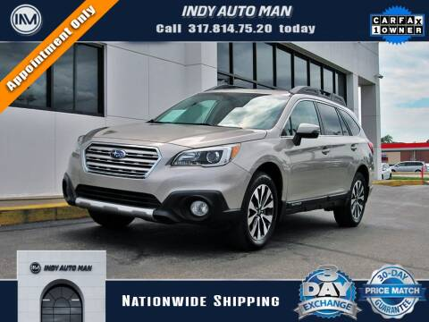 2017 Subaru Outback for sale at INDY AUTO MAN in Indianapolis IN