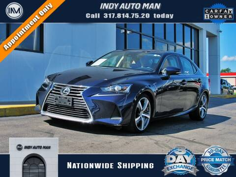 2017 Lexus IS 300 for sale at INDY AUTO MAN in Indianapolis IN