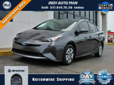 2016 Toyota Prius for sale at INDY AUTO MAN in Indianapolis IN