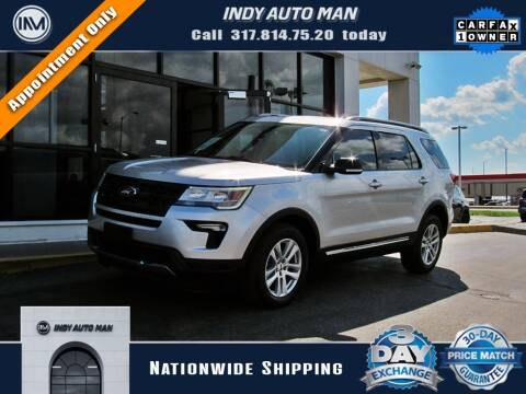 2018 Ford Explorer for sale at INDY AUTO MAN in Indianapolis IN