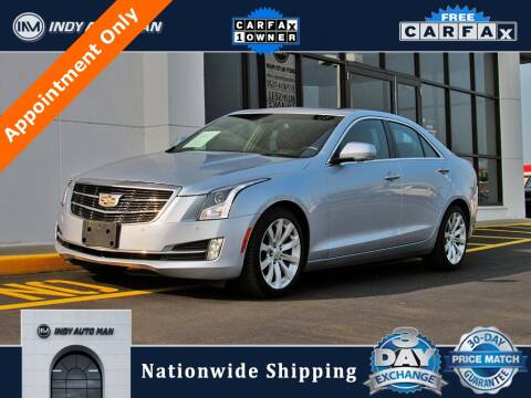 2017 Cadillac ATS for sale at INDY AUTO MAN in Indianapolis IN
