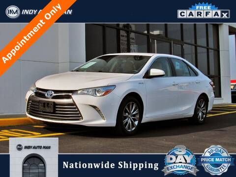 2016 Toyota Camry Hybrid for sale at INDY AUTO MAN in Indianapolis IN