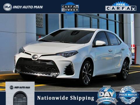 2018 Toyota Corolla for sale at INDY AUTO MAN in Indianapolis IN