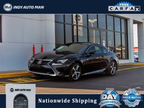 2017 Lexus RC 300 for sale at INDY AUTO MAN in Indianapolis IN