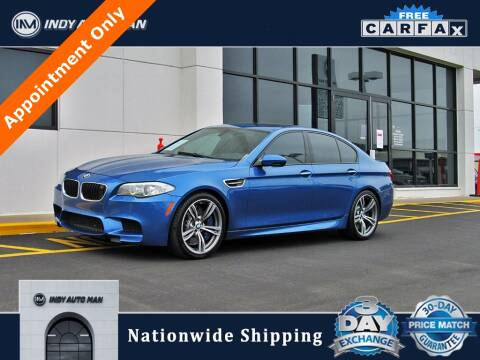 2013 BMW M5 for sale at INDY AUTO MAN in Indianapolis IN