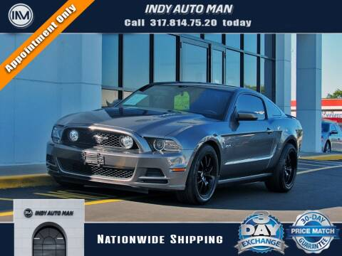 2014 Ford Mustang for sale at INDY AUTO MAN in Indianapolis IN