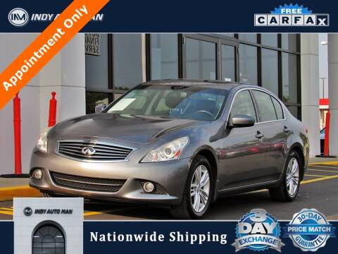 2013 Infiniti G37 Sedan for sale at INDY AUTO MAN in Indianapolis IN