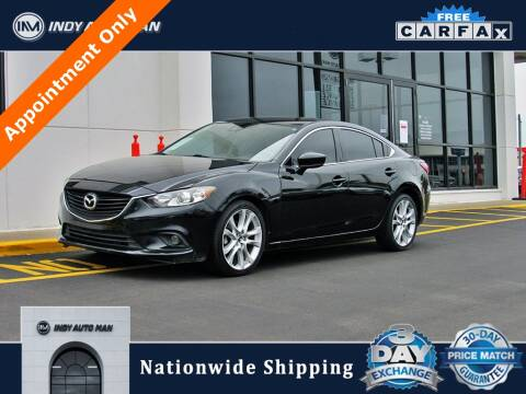 2017 Mazda MAZDA6 for sale at INDY AUTO MAN in Indianapolis IN