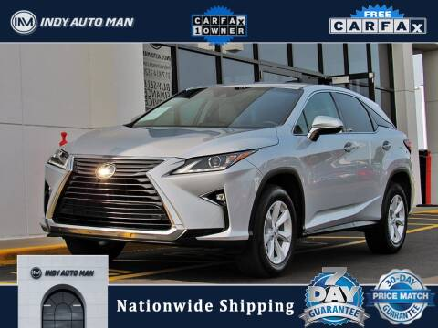 2017 Lexus RX 350 for sale at INDY AUTO MAN in Indianapolis IN