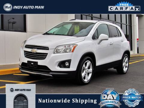 2016 Chevrolet Trax for sale at INDY AUTO MAN in Indianapolis IN