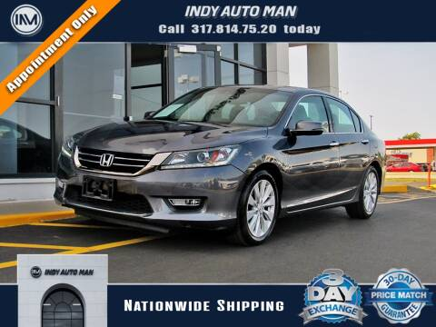 2013 Honda Accord for sale at INDY AUTO MAN in Indianapolis IN