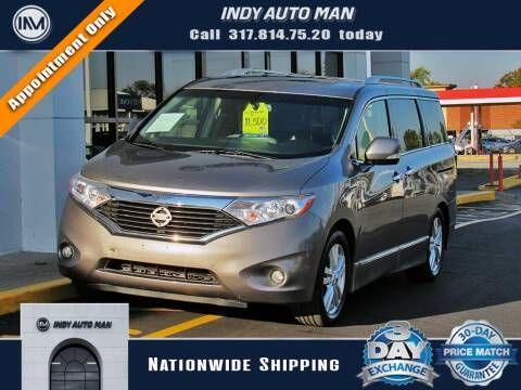 2012 Nissan Quest for sale at INDY AUTO MAN in Indianapolis IN