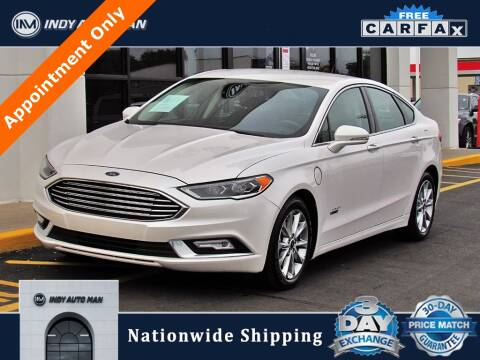 2017 Ford Fusion Energi for sale at INDY AUTO MAN in Indianapolis IN