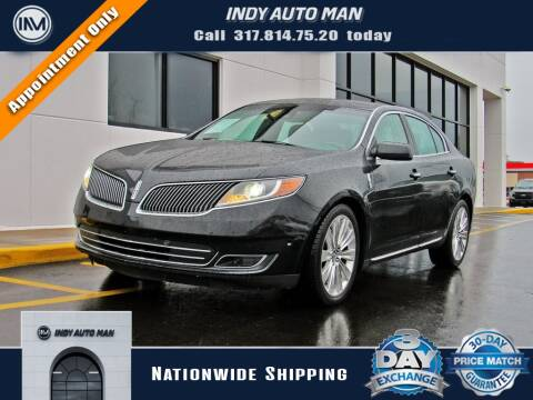 2015 Lincoln MKS for sale at INDY AUTO MAN in Indianapolis IN