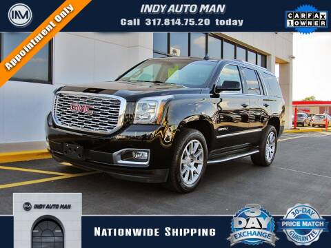 2018 GMC Yukon for sale at INDY AUTO MAN in Indianapolis IN