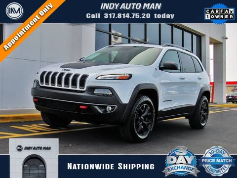 2018 Jeep Cherokee for sale at INDY AUTO MAN in Indianapolis IN