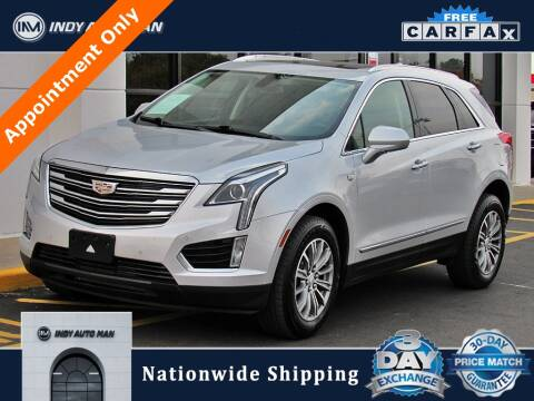 2017 Cadillac XT5 for sale at INDY AUTO MAN in Indianapolis IN