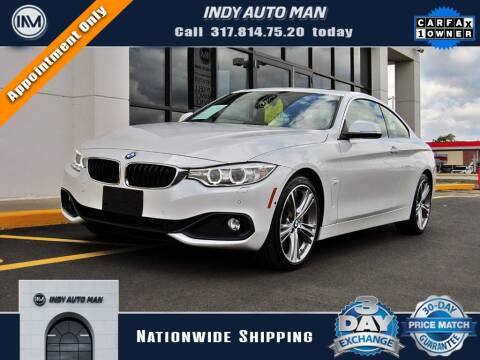 2017 BMW 4 Series for sale at INDY AUTO MAN in Indianapolis IN