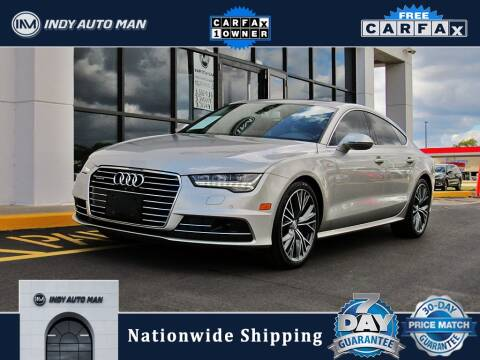 2017 Audi A7 for sale at INDY AUTO MAN in Indianapolis IN