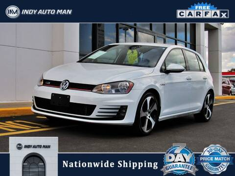 2015 Volkswagen Golf GTI for sale at INDY AUTO MAN in Indianapolis IN