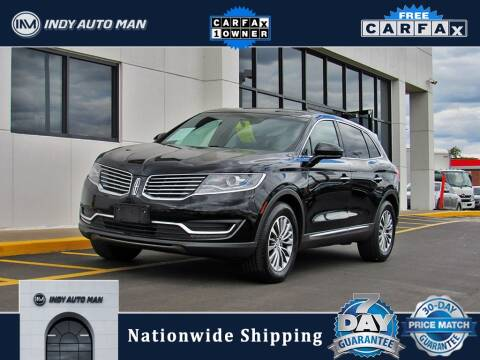 2016 Lincoln MKX for sale at INDY AUTO MAN in Indianapolis IN