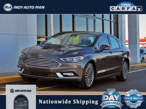 2017 Ford Fusion for sale at INDY AUTO MAN in Indianapolis IN