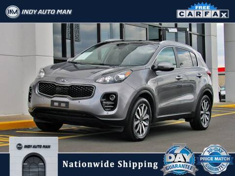 2017 Kia Sportage for sale at INDY AUTO MAN in Indianapolis IN