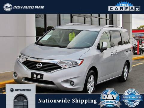 2017 Nissan Quest for sale at INDY AUTO MAN in Indianapolis IN