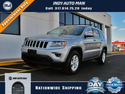 2015 Jeep Grand Cherokee for sale at INDY AUTO MAN in Indianapolis IN