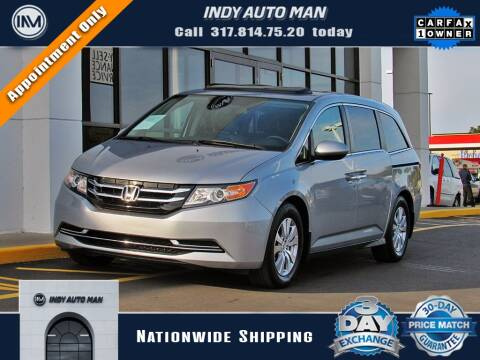 2017 Honda Odyssey for sale at INDY AUTO MAN in Indianapolis IN