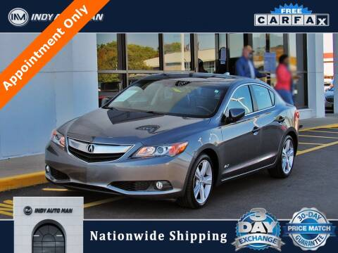 2014 Acura ILX for sale at INDY AUTO MAN in Indianapolis IN