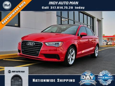 2016 Audi A3 for sale at INDY AUTO MAN in Indianapolis IN