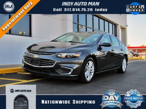 2016 Chevrolet Malibu for sale at INDY AUTO MAN in Indianapolis IN