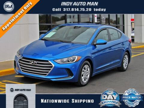 2017 Hyundai Elantra for sale at INDY AUTO MAN in Indianapolis IN