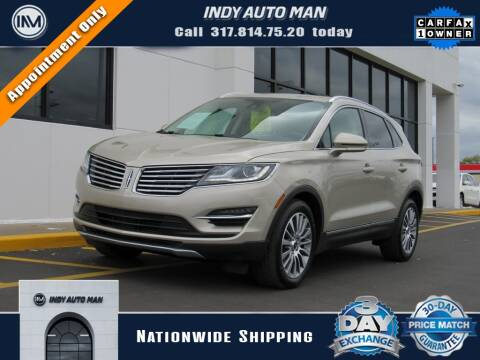 2017 Lincoln MKC for sale at INDY AUTO MAN in Indianapolis IN