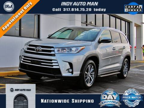 2017 Toyota Highlander for sale at INDY AUTO MAN in Indianapolis IN
