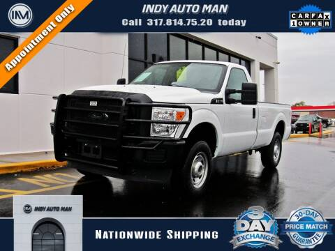 2015 Ford F-250 Super Duty for sale at INDY AUTO MAN in Indianapolis IN