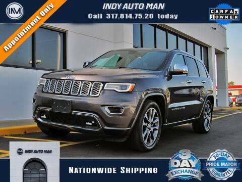 2017 Jeep Grand Cherokee for sale at INDY AUTO MAN in Indianapolis IN