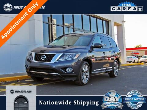 2013 Nissan Pathfinder for sale at INDY AUTO MAN in Indianapolis IN
