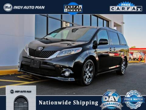2017 Toyota Sienna for sale at INDY AUTO MAN in Indianapolis IN