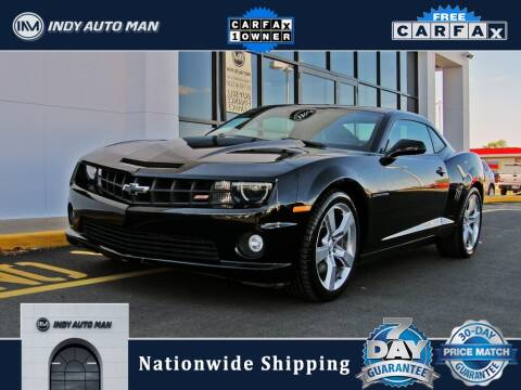 2013 Chevrolet Camaro for sale at INDY AUTO MAN in Indianapolis IN
