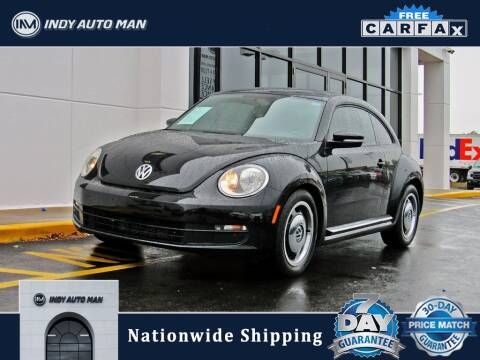 2013 Volkswagen Beetle for sale at INDY AUTO MAN in Indianapolis IN