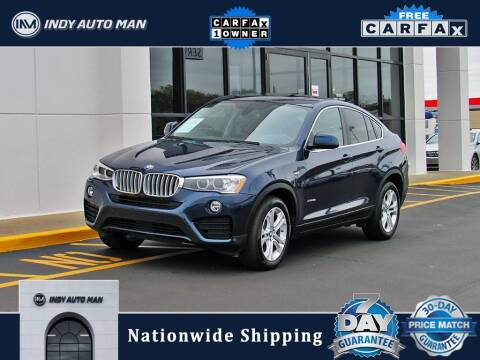 2017 BMW X4 for sale at INDY AUTO MAN in Indianapolis IN