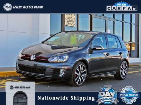 2013 Volkswagen GTI for sale at INDY AUTO MAN in Indianapolis IN