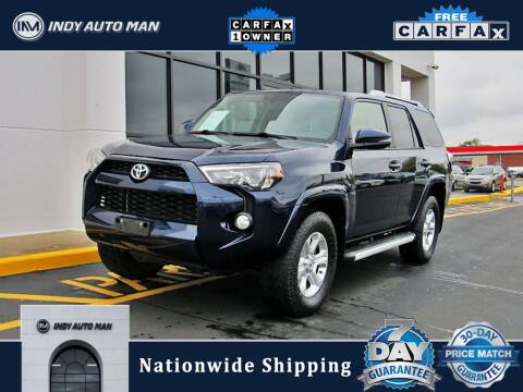 2017 Toyota 4Runner for sale at INDY AUTO MAN in Indianapolis IN