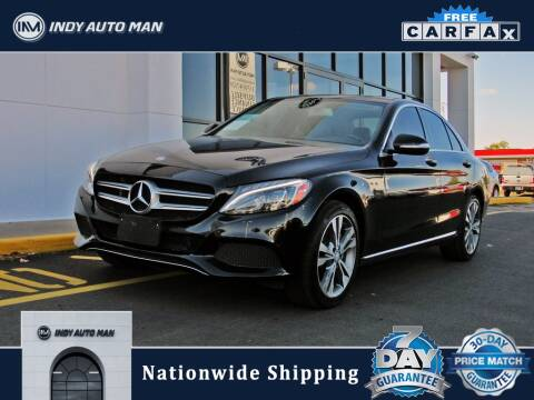 2015 Mercedes-Benz C-Class for sale at INDY AUTO MAN in Indianapolis IN