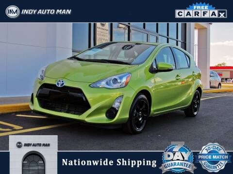 2015 Toyota Prius c for sale at INDY AUTO MAN in Indianapolis IN