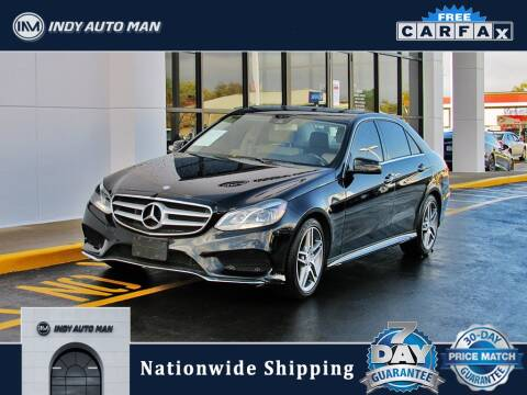 2016 Mercedes-Benz E-Class for sale at INDY AUTO MAN in Indianapolis IN